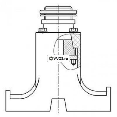 Устройство ввода под теплоизоляцию TS-УВ