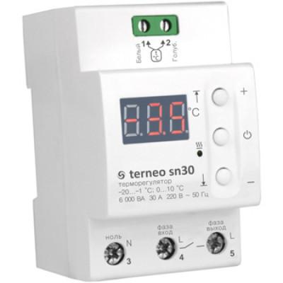 Терморегулятор для обогрева кровли Terneo sn30