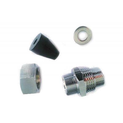 Муфта для ввода кабеля внутрь трубы