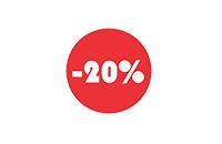 Скидка 20% в этом месяце!